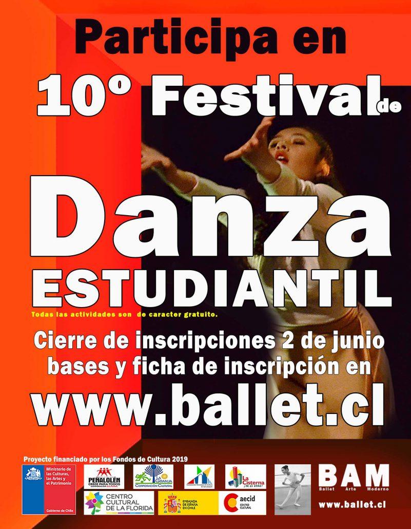 Décimo Festival de Danza Estudiantil